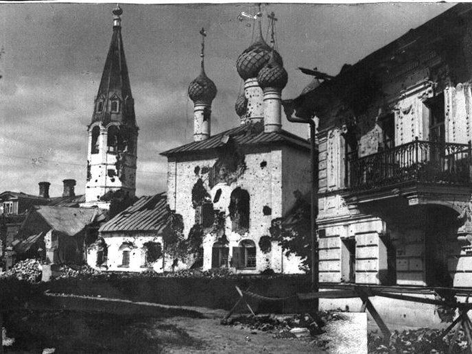 Прогулка по Ярославлю после Белогвардейского восстания