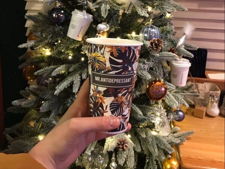 Подборка зимних напитков в кофейнях